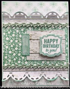 Quick Quotes Farmhouse, Stampin Up Birthday Quick Quotes, Golden Goddess, Stampin Up, Happy Birthday, Scrapbooking, Farmhouse, Paper Crafts, Projects, Cards