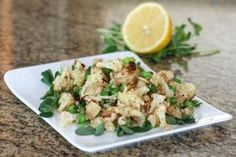 These cauliflower recipes are our favorites, from casseroles and soups, to main dish combinations and salads.: Roasted Cauliflower and Quinoa Salad