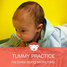 {Tummy Time} Find simple gross motor activities for early, middle, and late infants on #Knoala.