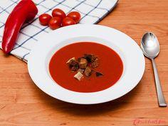 Krásně hustá polévka s nádhernou barvou a příjemně nasládlou chutí. Kdo by toužil po pikantní variantě, může přidat špetku chilli. Panna Cotta, Ethnic Recipes, Food, Dulce De Leche, Essen, Meals, Yemek, Eten