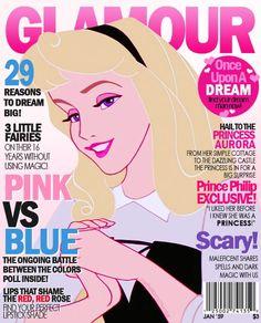 Disney princess magazine covers