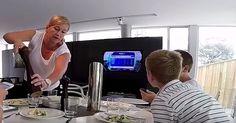 Este truco utilizó una mamá para que su familia cene en armonía y sin tecnología