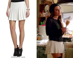 BCBGMAXAZRIA 'Shane' Pleated Mini Skirt - $89.00 (on sale!)