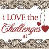 stampin up materials only card Challenge blog, with a new challenge/sketch on Tuesdays.