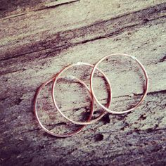 Rose Gold Stacking Rings Uncovet