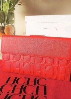 Compra mi artículo en #vinted http://www.vinted.es/bolsos-de-mujer/monederos/367606-monedero-carolina-herrera-piel-rojo