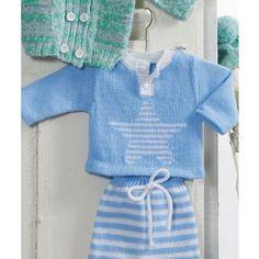 Babypulli kostenlose Strickanleitung