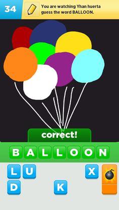 Balloon drawn by me
