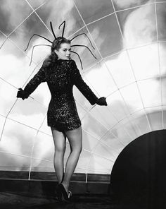 Janis Page Spider Costume Find This Pin And More On Vintage Hollywood Halloween
