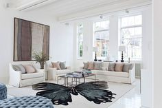 Bright and spacious, the Blake House in London ranks high in inspirational details. A simple color palette defined by white and spiced up with unexpected vivid hues lets out a feeling of elegance and neatness. Each interior seems more imposing than the next and the consistent design makes the room transition very smooth.
