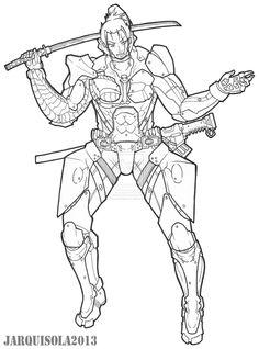 Jetstream Sam by PhoenixHeartX on DeviantArt Metal Gear Rising, Metal Gear Solid, Gears, Sick, Character Design, Sketch, Deviantart, Drawings, Style