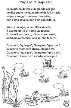 Italian Language, Nursery Rhymes, Words, School, Book, Preschool, Horse