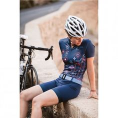Germany's Maloja brings a fresh look to women's cycling apparel with this one-piece suit. http://np-1.co/1nYM19V