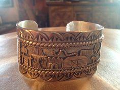 Navajo Signed Native Amerian Gene Natan Vintage by Tessey2 on Etsy, $395.00