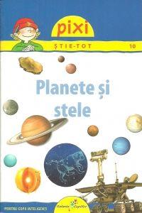 Planete si stele. Editura Galaxia Copiilor, Varsta: :+4 ani(Daca sunt explicate de parinti) ; Misterele cosmosului si informatii deosebite despre planete, stele si univers in general sunt accesibilizate pentru micutii dornici de cunoastere.