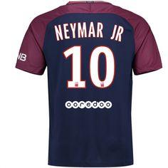 17-18 PSG Home NEYMAR JR #10 Soccer Jersey Shirt