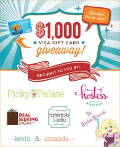 FALL GIVEAWAY: $1,000 Visa Gift Card {Enter to Win!} // Hostess with the Mostess®