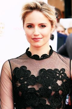 Dianna Agron attends the House of Fraser British Academy Television Awards at Theatre Royal in London, England on May 10th 2015.