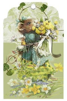 Vera and Dolly Marjolein Bastin, Nature Artists, Cute Mouse, Beatrix Potter, Whimsical Art, Clipart, Pretty Pictures, Vintage Prints, Illustrators