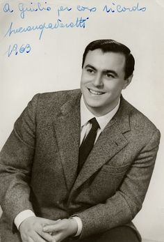 Luciano Pavarotti in 1963 (when he was 28 years old)