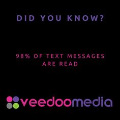 Did You Know? 🤔💬💡 . 98% of text messages are read . 🥇🏆 Digital Marketing Agency Helping Small Businesses Grow Online, Innovate & Transform . 🎯 Digital Marketing 🧩 Consultancy 🛒 eCommerce 🖥 Web Design . 📈 Work With Us to Grow Your Business Online and Get Ahead of Your Competitors . 🔗 www.veedoomedia.com . Follow Us 👉 @veedoomedia 👈 to Get More Valuable Insights into Digital Marketing . . . . . #sem #digitalmarketing #onlinemarketing #internetmarketing #business #ecommerce… Internet Marketing, Online Marketing, Digital Marketing, Ecommerce Web Design, Growing Your Business, Text Messages, Small Businesses, Did You Know, Online Business