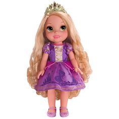 """Disney Princess 15 inch Doll - Toddler Rapunzel -  Tolly Tots - Toys""""R""""Us"""