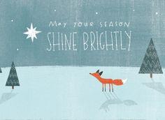 Winter fox by Emily Dove Gross