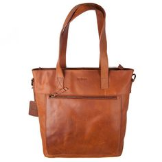 Burkely Shopper Notebook cognac