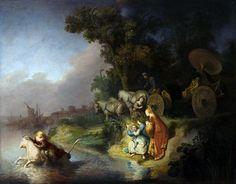 'El Rapto de Europa' de Rembrandt