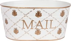 French Bee Mail Tub