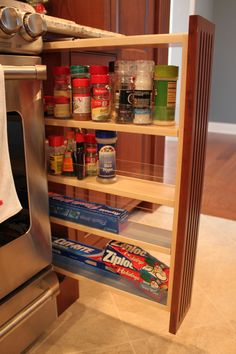Spice Rack Bensalem Drop Down Tv On Remote Control Lift  Kitchen Storage And Ideas