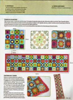 My Crochet , Mis Tejidos by Luna: Granny Crochet Skirts, Crochet Poncho, Crochet Granny, Crochet Scarves, Irish Crochet, Crochet Clothes, Crochet Afghans, Crochet Chart, Crochet Motif
