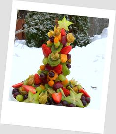 Amazing fruit tree! And you can build it all by yourself.   Kaikki Paketissa: Rakenna oma hedelmäpuu