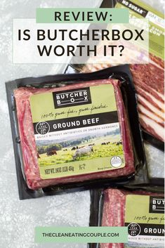 Today I'm answering one of the most popular questions I get: Is ButcherBox Worth It? This is an honest ButcherBox Review about the service that delivers grass fed beef, free range chicken & heritage pork directly to your door. Let's see if Butcher Box is worth the cost! I've also included some recipes for you too! Their salmon, pork chops and wings are the BEST! #butcherbox #paleo #whole30 Healthy Grilled Chicken Recipes, Healthy Turkey Recipes, Butcher Box, Easy Clean Eating Recipes, Grass Fed Beef, Free Range, Some Recipe, Recipes For Beginners, Pork Chops