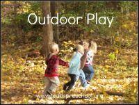 Outdoor Play on Teach Preschool