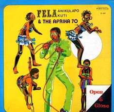 Lemi Ghariokwu - Artist behind Fela Kuti Album Covers Fela Kuti, Album Cover Design, Neo Soul, Reggae Music, World Music, Sierra Leone, Graphic Design Typography, African Art, Ghana