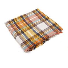 Yoins Square Checked Shawl Scarf in Yellow (46 BAM) ❤ liked on Polyvore featuring accessories, scarves, yoins, yellow, tartan wrap shawl, tartan shawl, tartan scarves, tartan plaid shawl and colorful scarves