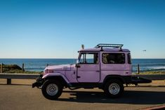 RARE Lavender 1971 Toyota Land Cruiser FJ 40 Landcruiser for sale: photos, technical specifications, description - Today Pin Toyota Hilux, Toyota 4x4, Cars Land, Alfa Romeo Cars, Old Classic Cars, Chip Foose, Bmw Series, Audi Tt, Ford Gt