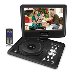 Supports Multiple Modes and Formats Thanks to a built-in USB port and SD card reader, you can enjoy your digital movies and MP3 files directly from a USB flash drive or SD card. Disc Formats: DVD, DVD+R(-R), DVD+RW(-RW), VCD, SVCD-R(RW), CD-R(RW) Video File Formats: VOB, AVI, MPEG 1, MPEG 2,... more details available at https://perfect-gifts.bestselleroutlets.com/gifts-for-holidays/electronics/product-review-for-9-portable-dvd-player-with-5-hours-built-in-rechargeable-battery