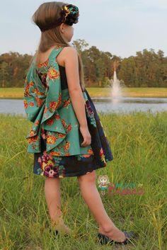 Sofia Dress Sewing PDF Pattern
