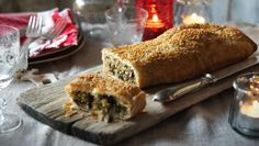 BBC Food - Recipes - Christmas veggie Wellington