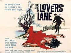 "The Girl in Lovers Lane (1960) [USA:Unrated, 1 h 18 min] Crime, Drama, Romance Brett Halsey, Joyce Meadows, Lowell Brown, Jack Elam Director: Charles R. Rondeau; Writer: Jo Heims IMDb user rating: ★★☆☆☆☆☆☆☆☆ 2.3/10 (619 votes) Danny, son of a wealthy family, is running away from home. He meets Bix, a long-time drifter, who agrees to ""mento"