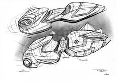 personal sketch by Reza Razazzadeh at Coroflot.com