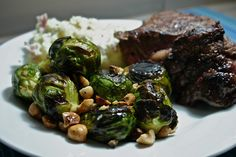Anniversary Dinner - the brussels sprouts here are to die for!