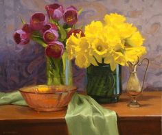 """Fine Art and You: Still Life Paintings by Canadian Artist """"Laurie Kersey"""""""