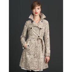 Cheetah slicker Worn once madmen collection Banana Republic Jackets & Coats Trench Coats