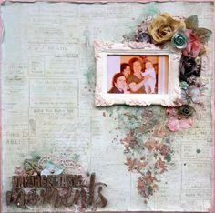 Valia's crafty world: Unforgettable moments - LO για το Scraps n Pieces