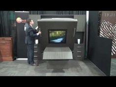 Inova EasyMotion Sofa-WallBed at Hospitality Design Expo 2010