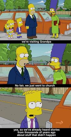 Simpsons Religion Quotes | List of Religious Jokes from The Simpsons