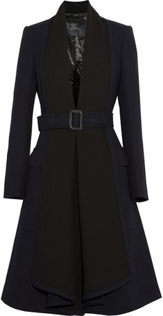 BURBERRY Woolcrepe Coat